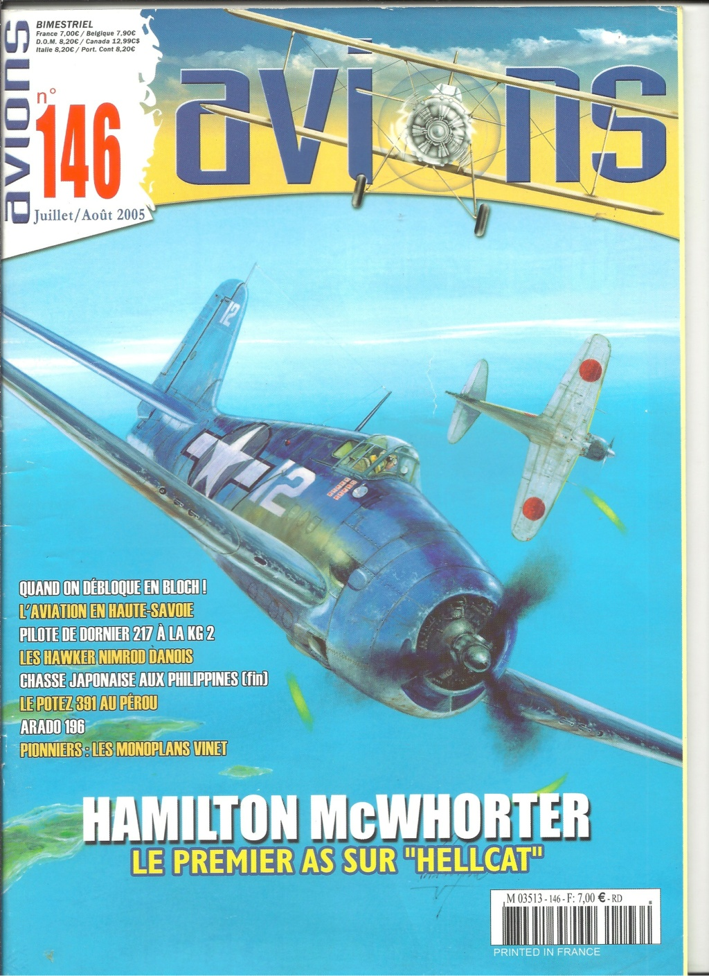 "ARADO Ar 196 A2 ""Aéronavale 1939"" Réf 241 Revue541"