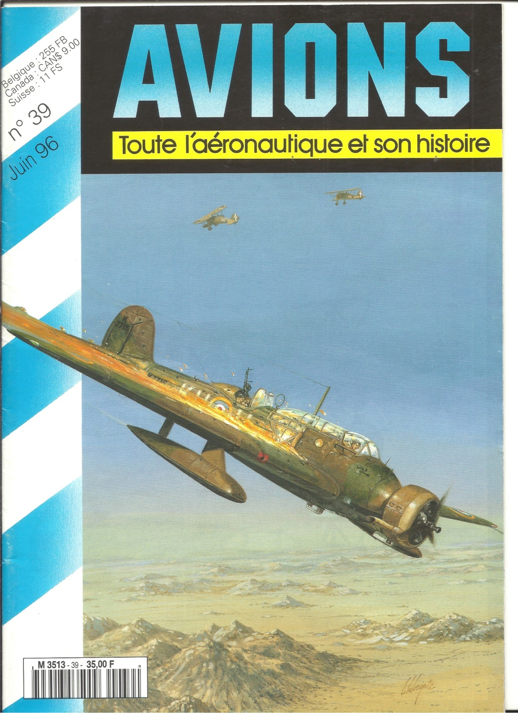 "ARADO Ar 196 A2 ""Aéronavale 1939"" Réf 241 Revue547"