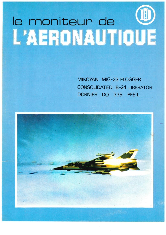 [LE MONITEUR DE L AERONAUTIQUE 1977] plaquette de présentation de la nouvelle revue  Revue_99