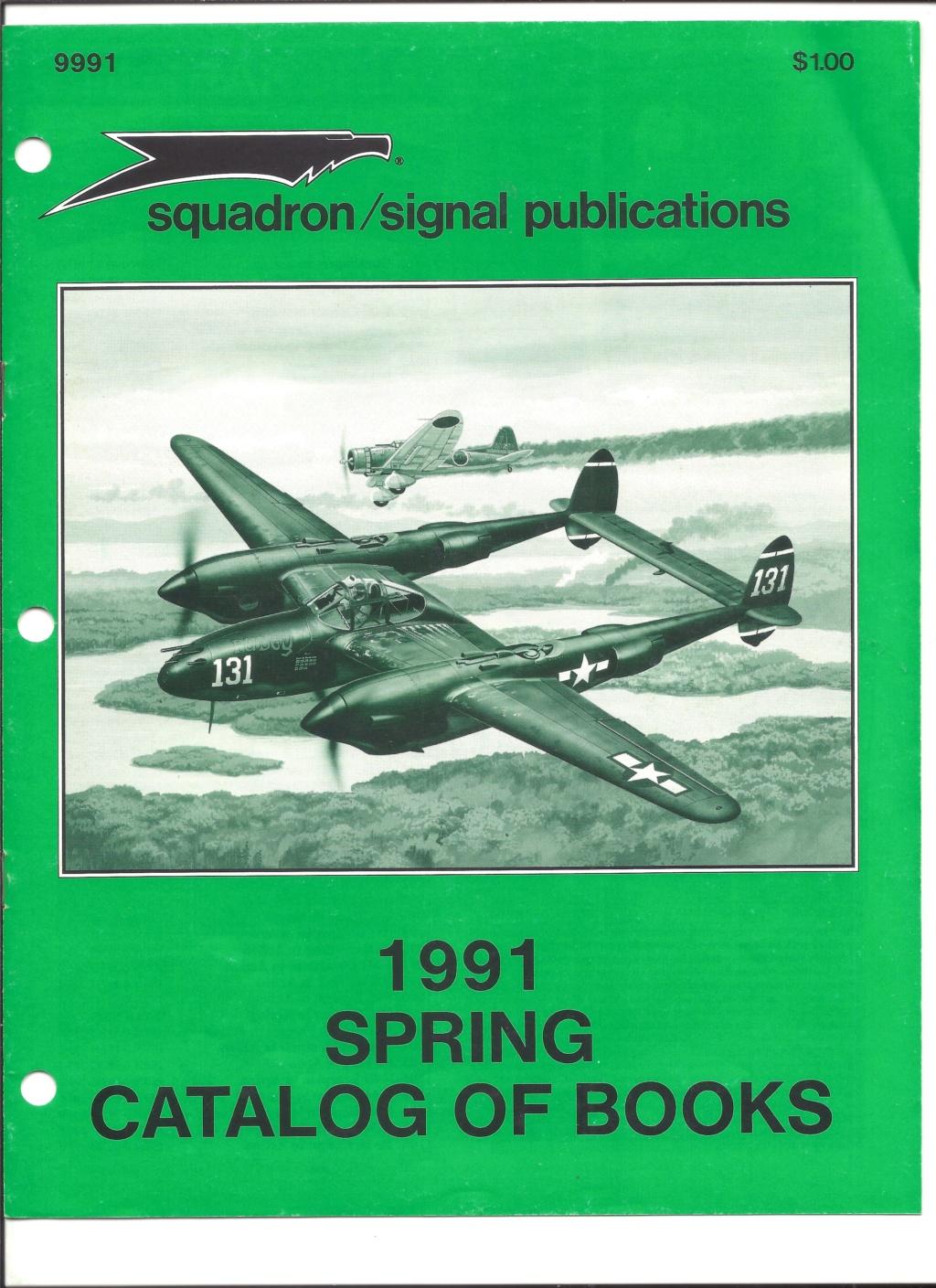 [SQUADRON SIGNAL PUBLICATION 1991] Catalogue été 1991 Squadr11