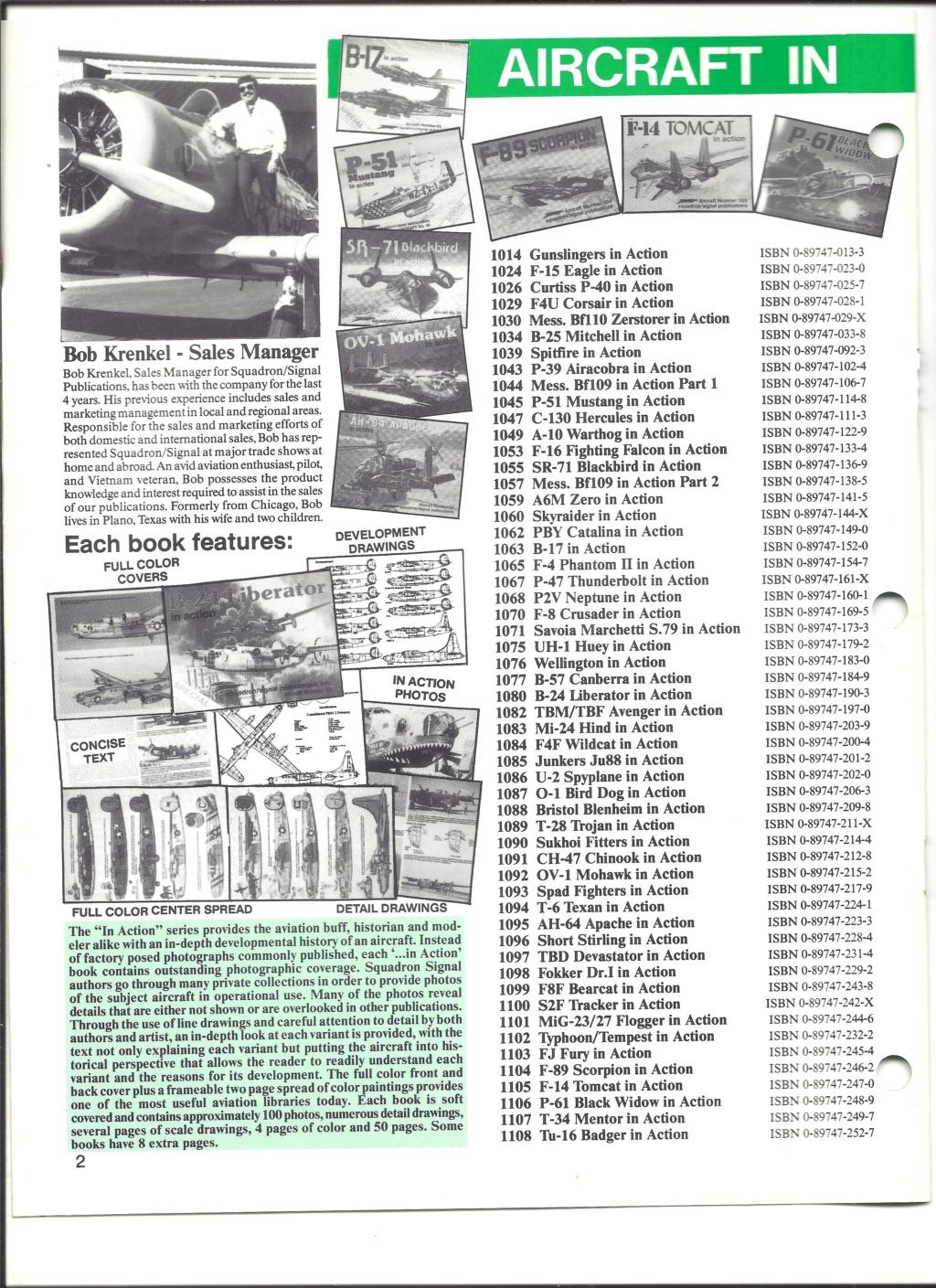 [SQUADRON SIGNAL PUBLICATION 1991] Catalogue été 1991 Squadr12