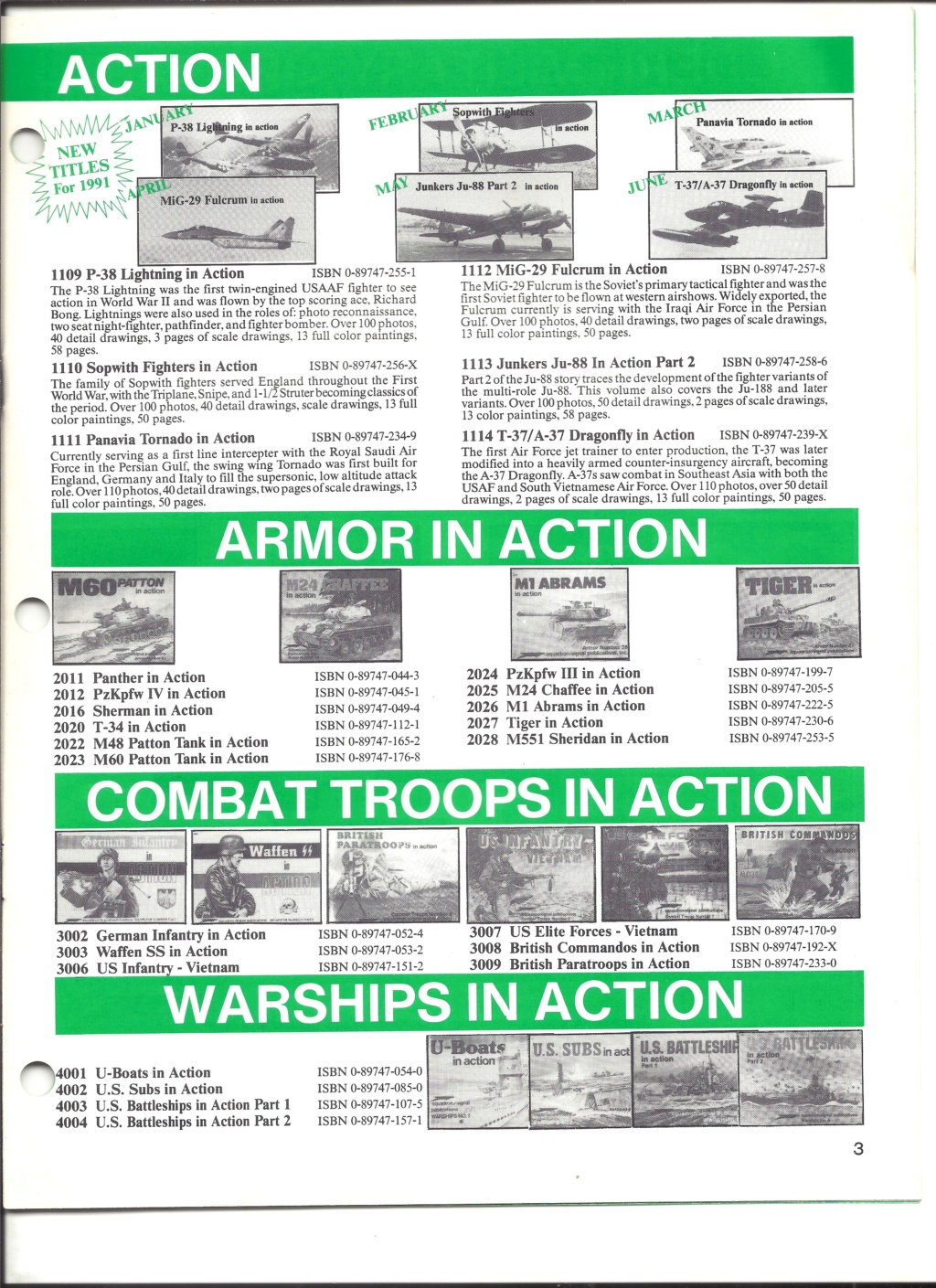 [SQUADRON SIGNAL PUBLICATION 1991] Catalogue été 1991 Squadr13