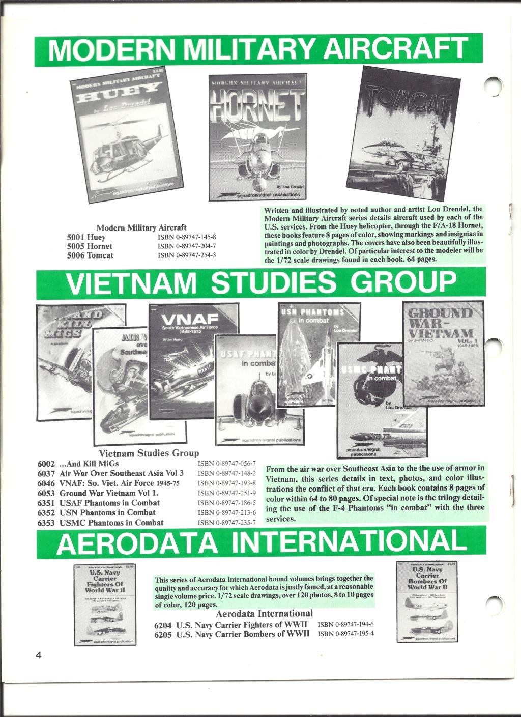 [SQUADRON SIGNAL PUBLICATION 1991] Catalogue été 1991 Squadr14