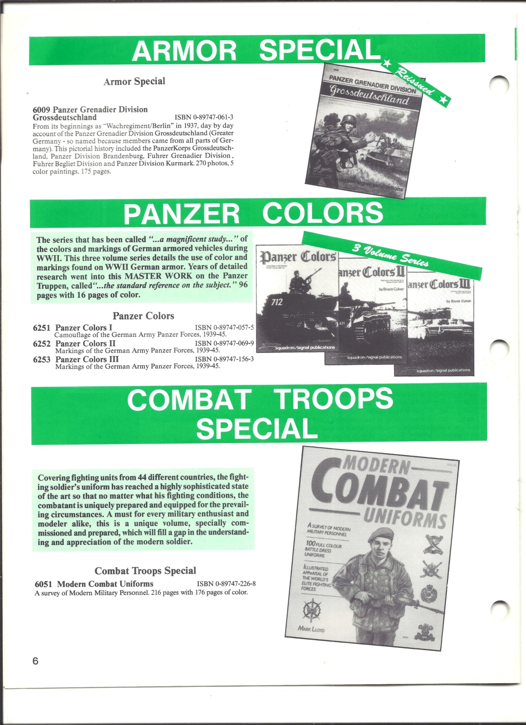 [SQUADRON SIGNAL PUBLICATION 1991] Catalogue été 1991 Squadr15