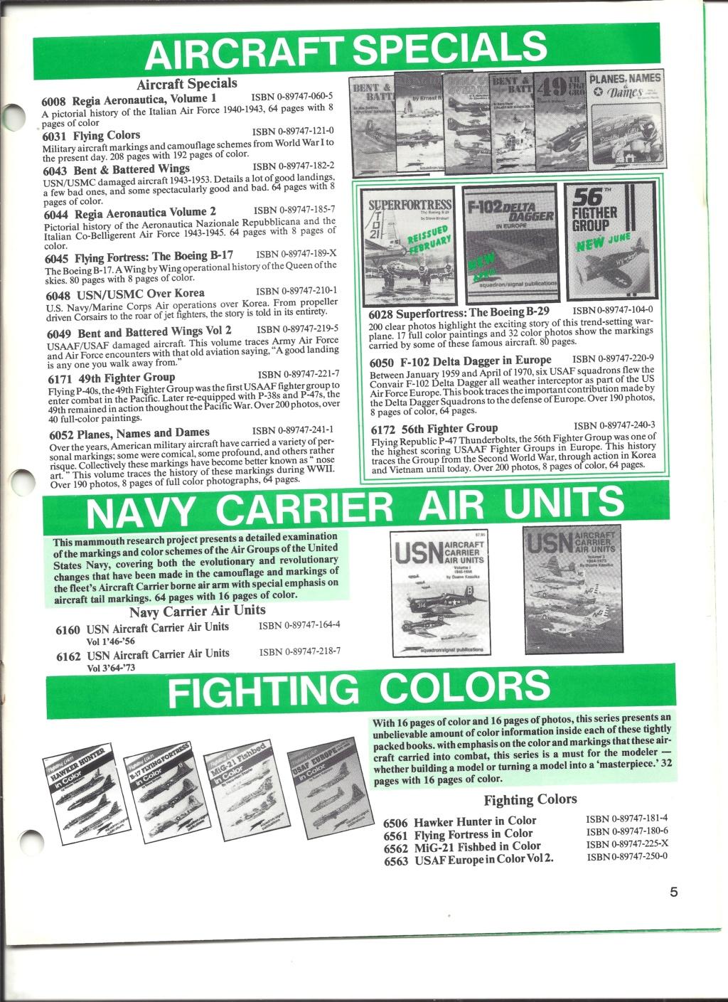 [SQUADRON SIGNAL PUBLICATION 1991] Catalogue été 1991 Squadr16