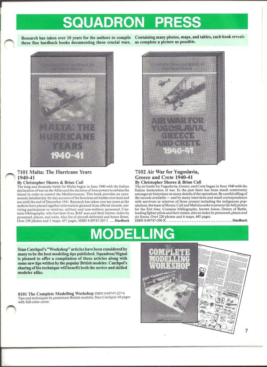 [SQUADRON SIGNAL PUBLICATION 1991] Catalogue été 1991 Squadr17