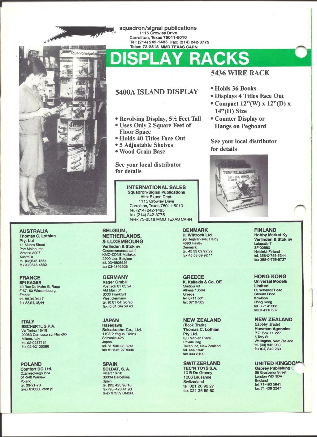 [SQUADRON SIGNAL PUBLICATION 1991] Catalogue été 1991 Squadr18