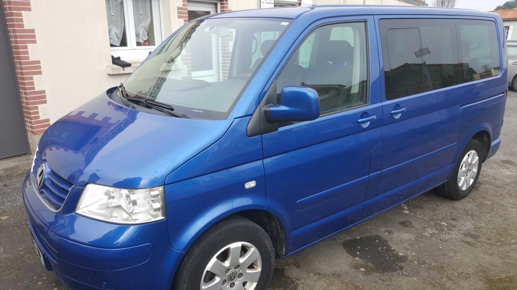 A vendre Multivan T5 2.5L TDI 131cv proche Nantes 0111