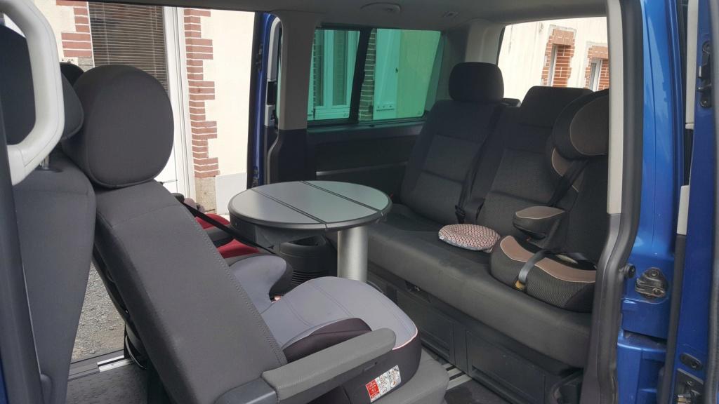 A vendre Multivan T5 2.5L TDI 131cv proche Nantes 0211