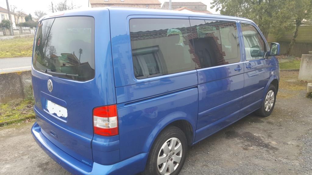 A vendre Multivan T5 2.5L TDI 131cv proche Nantes 20190210