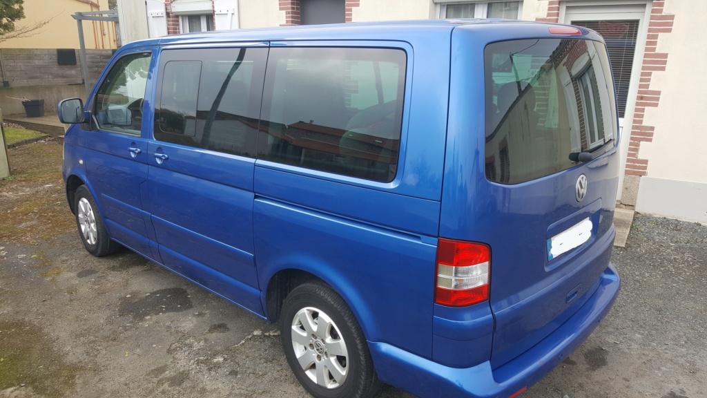A vendre Multivan T5 2.5L TDI 131cv proche Nantes 20190212