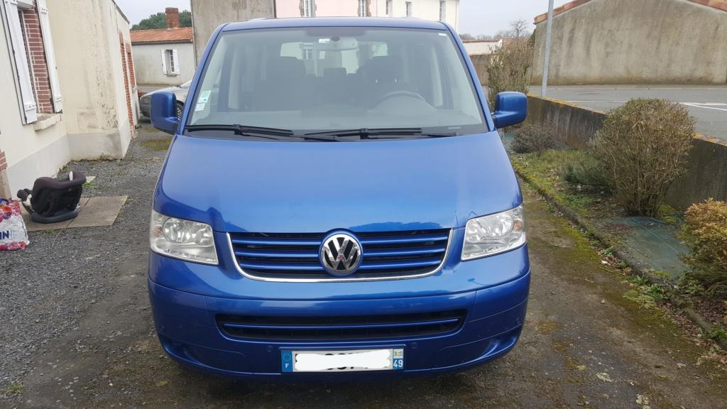 A vendre Multivan T5 2.5L TDI 131cv proche Nantes 20190215