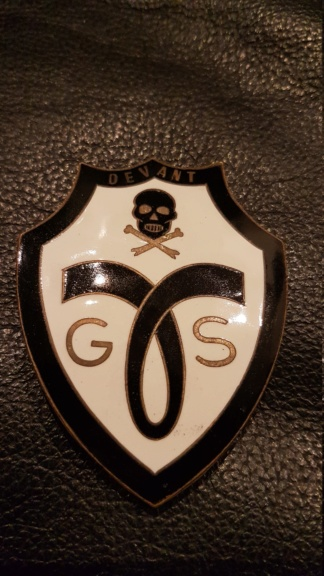 Identification d'un insigne G.S.S Milice 20200221