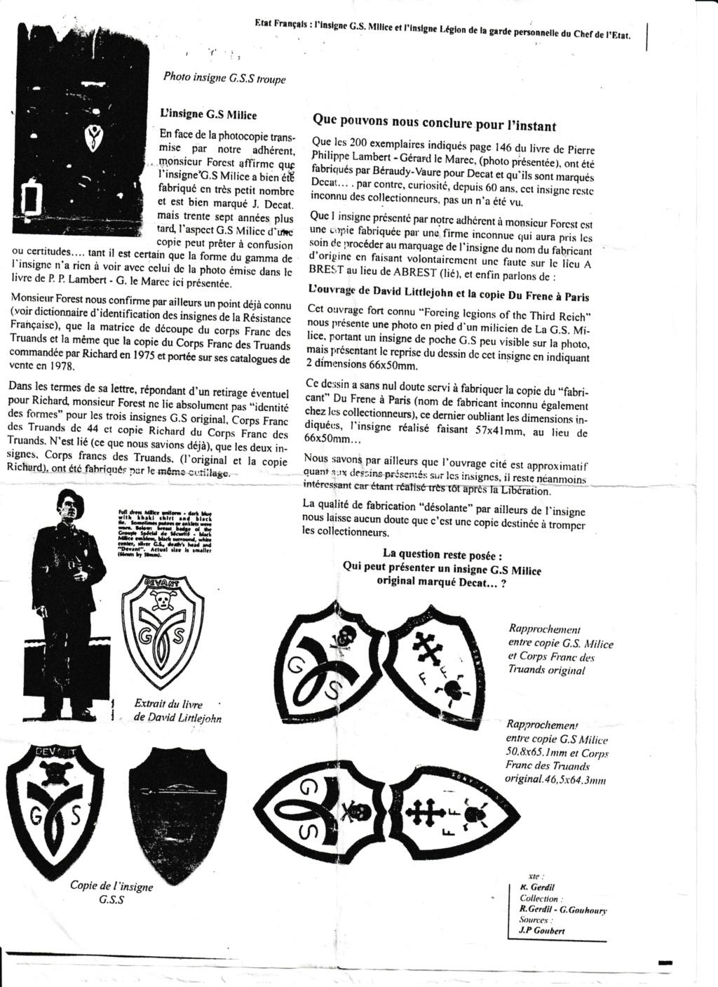 Identification d'un insigne G.S.S Milice Insign12