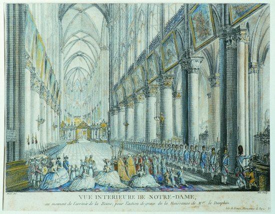 Marie-Antoinette à Notre Dame Zducre10