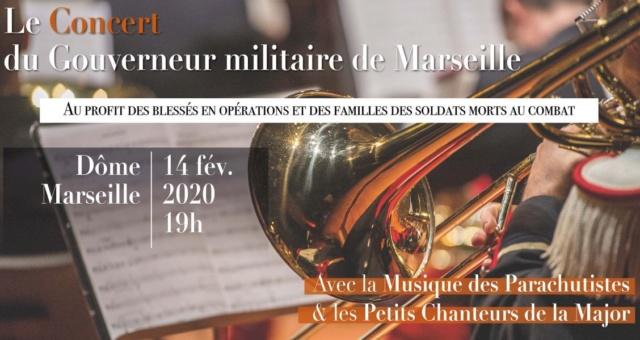 Musique des paras à Marseille le 14 février 2020 Parach12