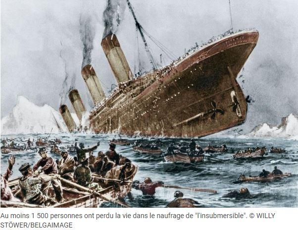 Titanic, vers de nouvelles découvertes, l'épave pourra être découpée. Titani10