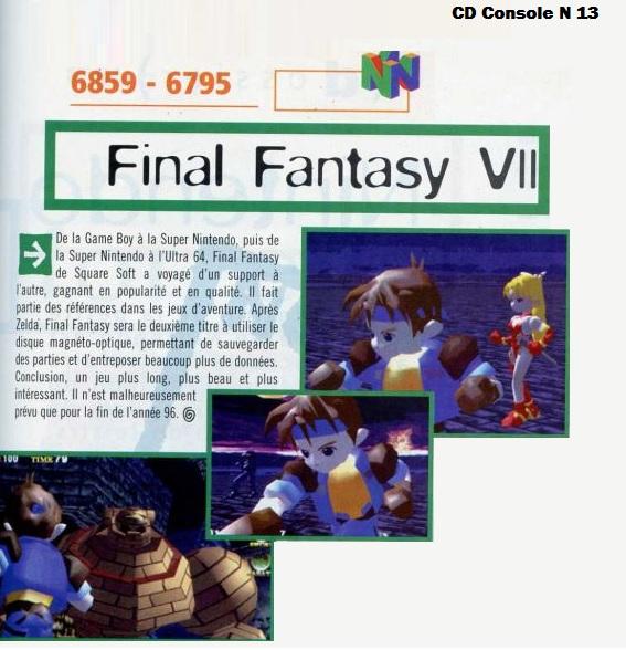 Final Fantasy, c'est loin d'etre fini ! - Page 15 Cdc13f10