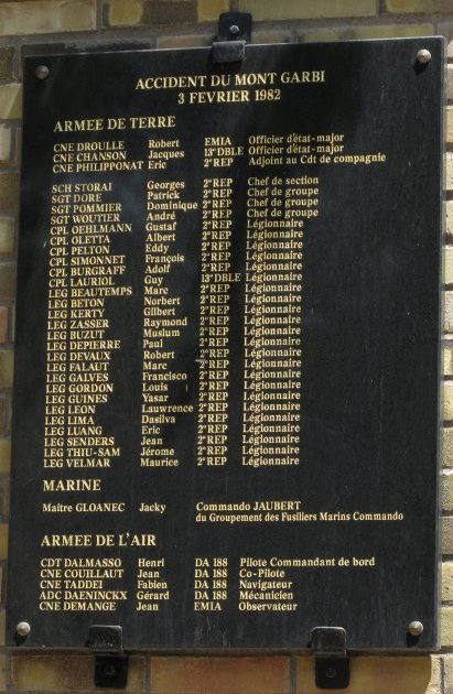 IL Y A  38  ans  mont  garbi Garbi210