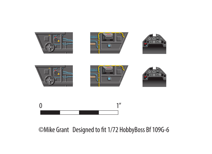 [Heller] Messerschmitt Me 109 K-4 ----- F I N I ----- 109-g-10