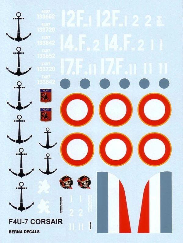[Italeri] Chance-Vought Corsair AU-1 - Flotille 14F - Dien Bien Phu - 7 mai 1954 Ber72010