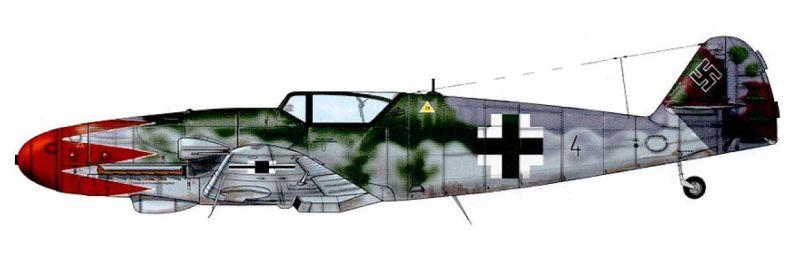 [Heller] Messerschmitt Me 109 K-4 ----- F I N I ----- Captur57
