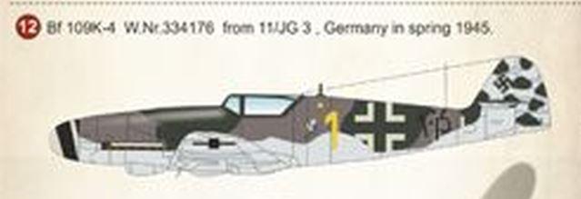 [Heller] Messerschmitt Me 109 K-4 ----- F I N I ----- Deco0110