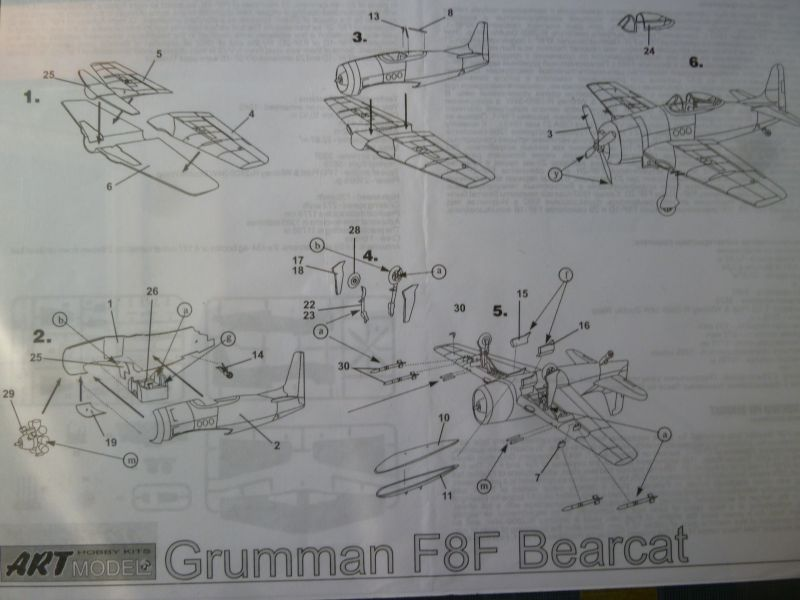 [Art Model] Grumman F8F Bearcat - GC I/9 Limousin en Indochine FINI P1120559