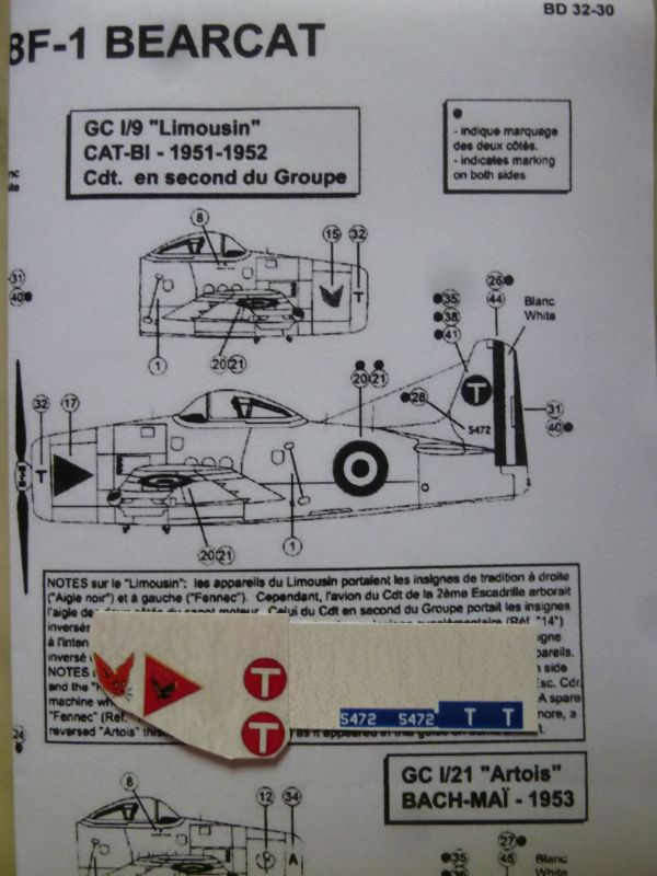 [Art Model] Grumman F8F Bearcat - GC I/9 Limousin en Indochine FINI P1120562