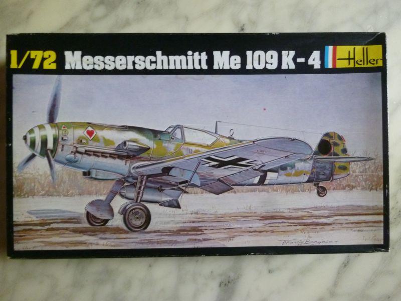 [Heller] Messerschmitt Me 109 K-4 ----- F I N I ----- P1140535