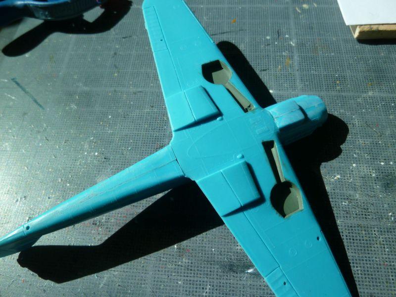 [Heller] Messerschmitt Me 109 K-4 ----- F I N I ----- P1140573