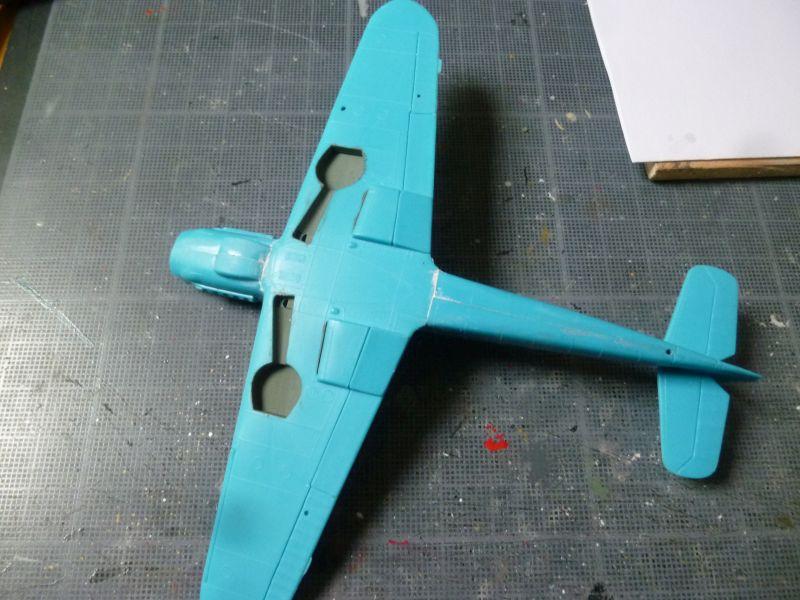 [Heller] Messerschmitt Me 109 K-4 ----- F I N I ----- P1140574