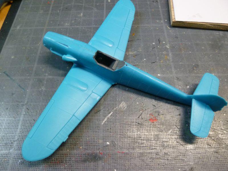 [Heller] Messerschmitt Me 109 K-4 ----- F I N I ----- P1140575