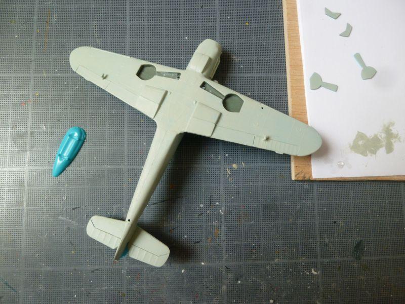 [Heller] Messerschmitt Me 109 K-4 ----- F I N I ----- P1140576