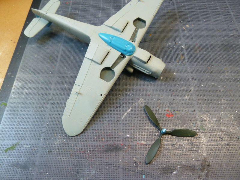 [Heller] Messerschmitt Me 109 K-4 ----- F I N I ----- P1140578