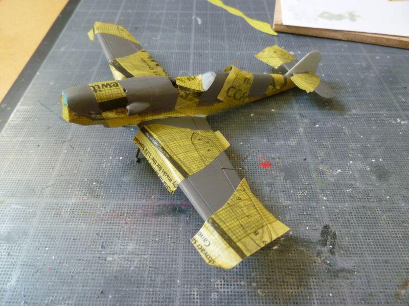 [Heller] Messerschmitt Me 109 K-4 ----- F I N I ----- P1140639