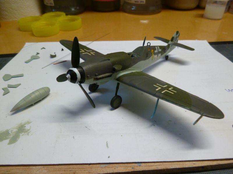 [Heller] Messerschmitt Me 109 K-4 ----- F I N I ----- - Page 2 P1140663