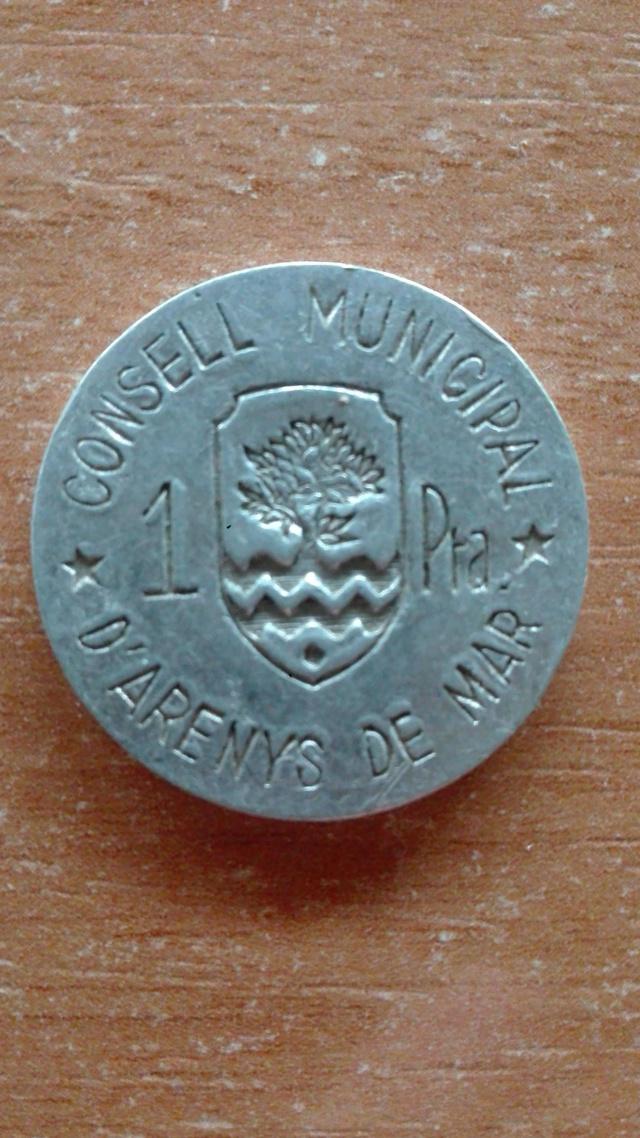 1 peseta 1937. Arenys de Mar. Guerra Civil  Unname13