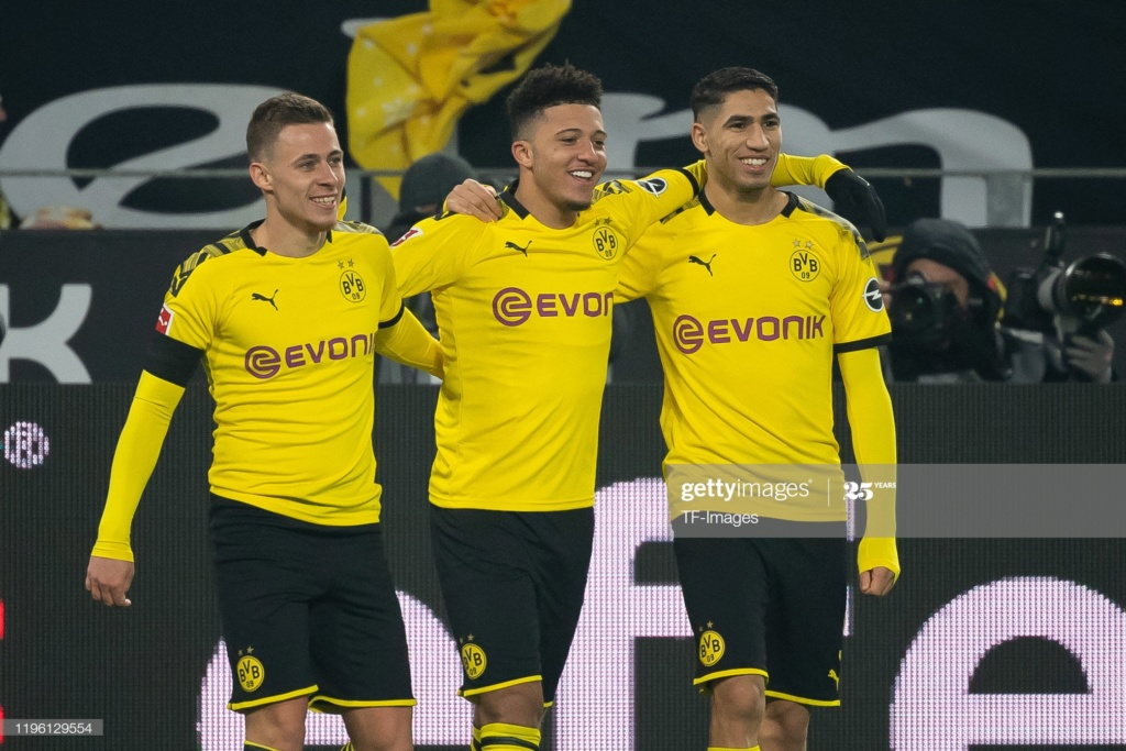 ¿Cuánto mide Jadon Sancho? - Altura - Real height Gettyi18