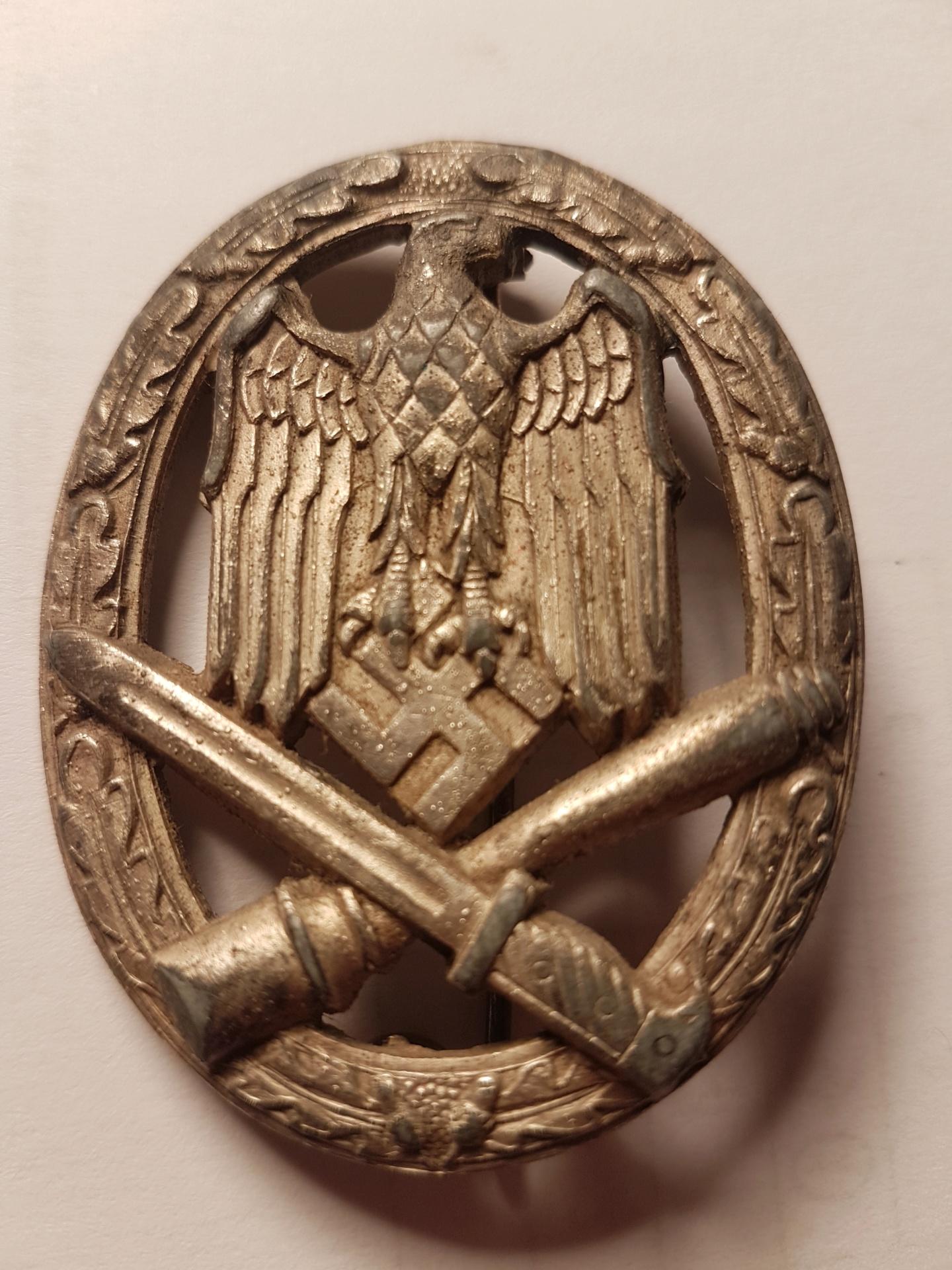 Badge Assaut Général 20200138