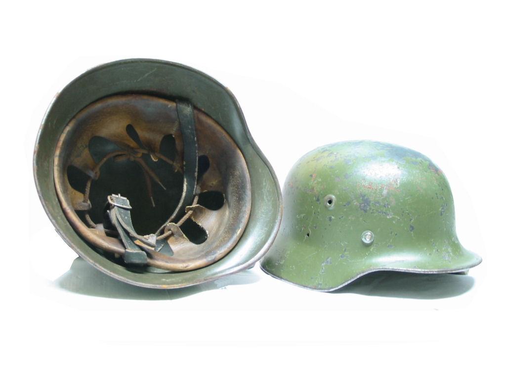 Casque allemand m35 reconditionné Casque10