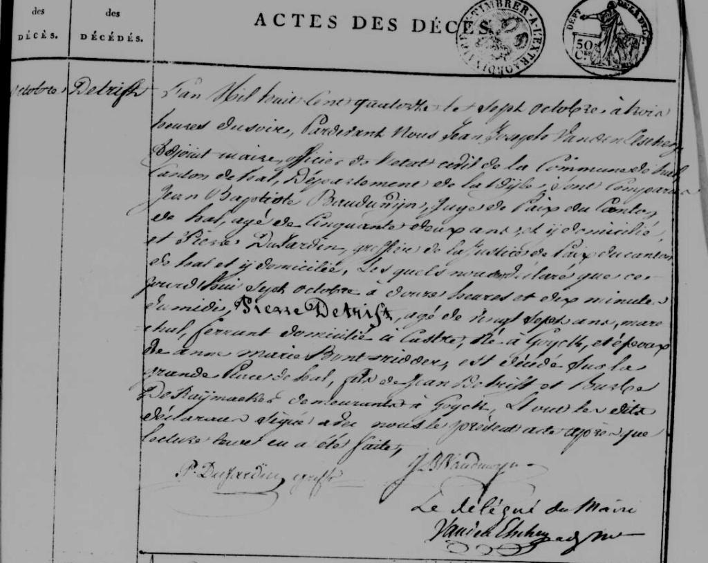 Exécutions en Belgique (1796-1863) Acte_h10