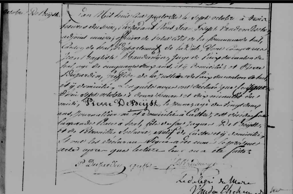 Exécutions en Belgique (1796-1863) Acte_h11