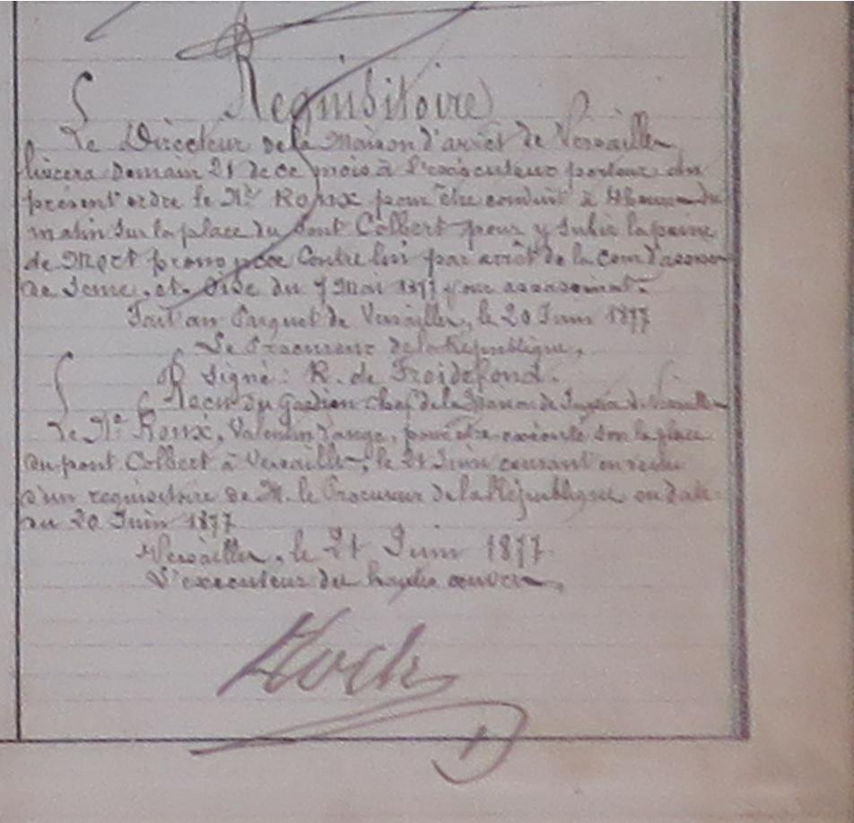 """Liste des """"clients"""" de Nicolas Roch Ecrou_15"""