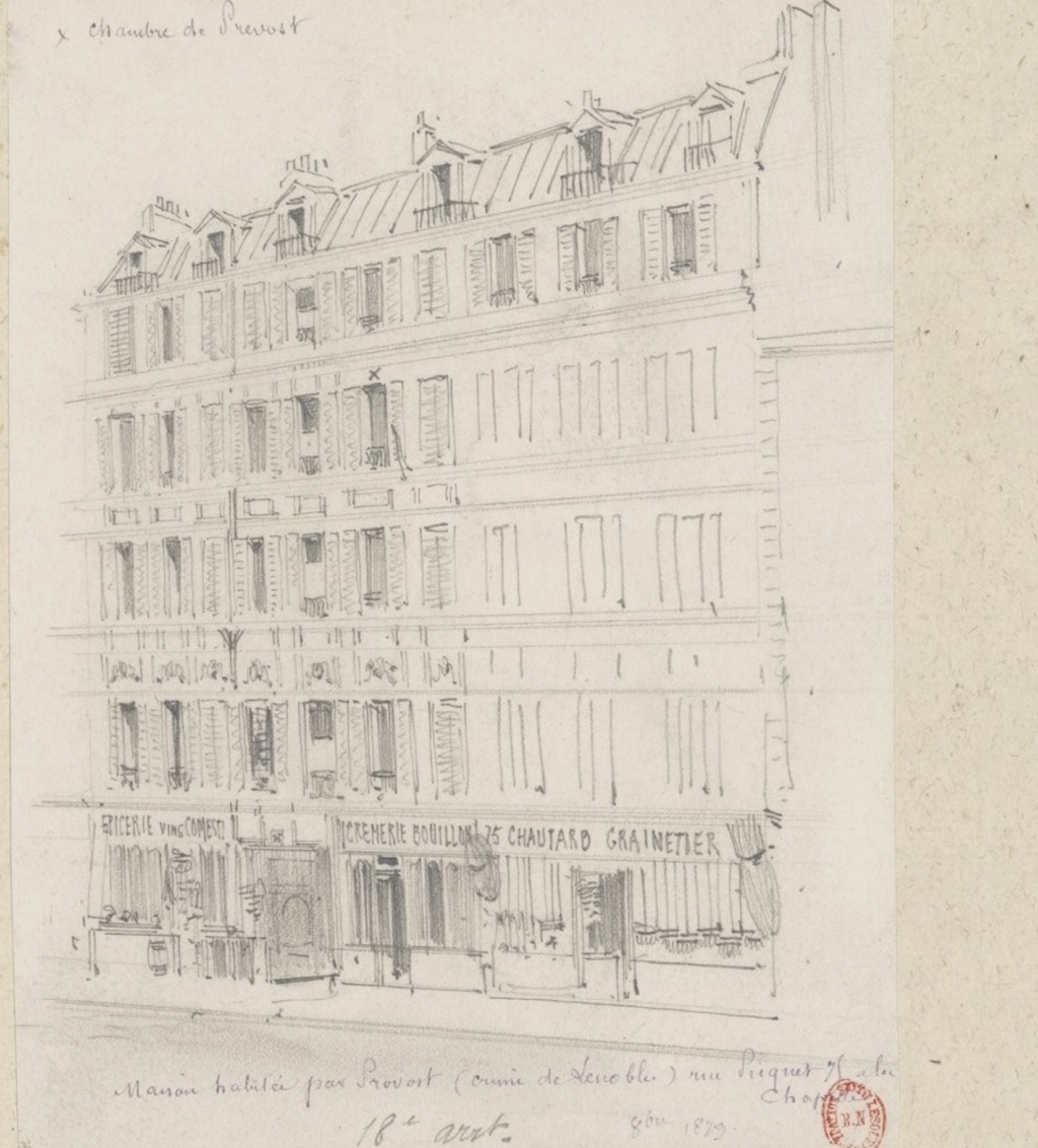 Victor-Joseph Prévost - le boucher de la Chapelle - 1880 Immeub10