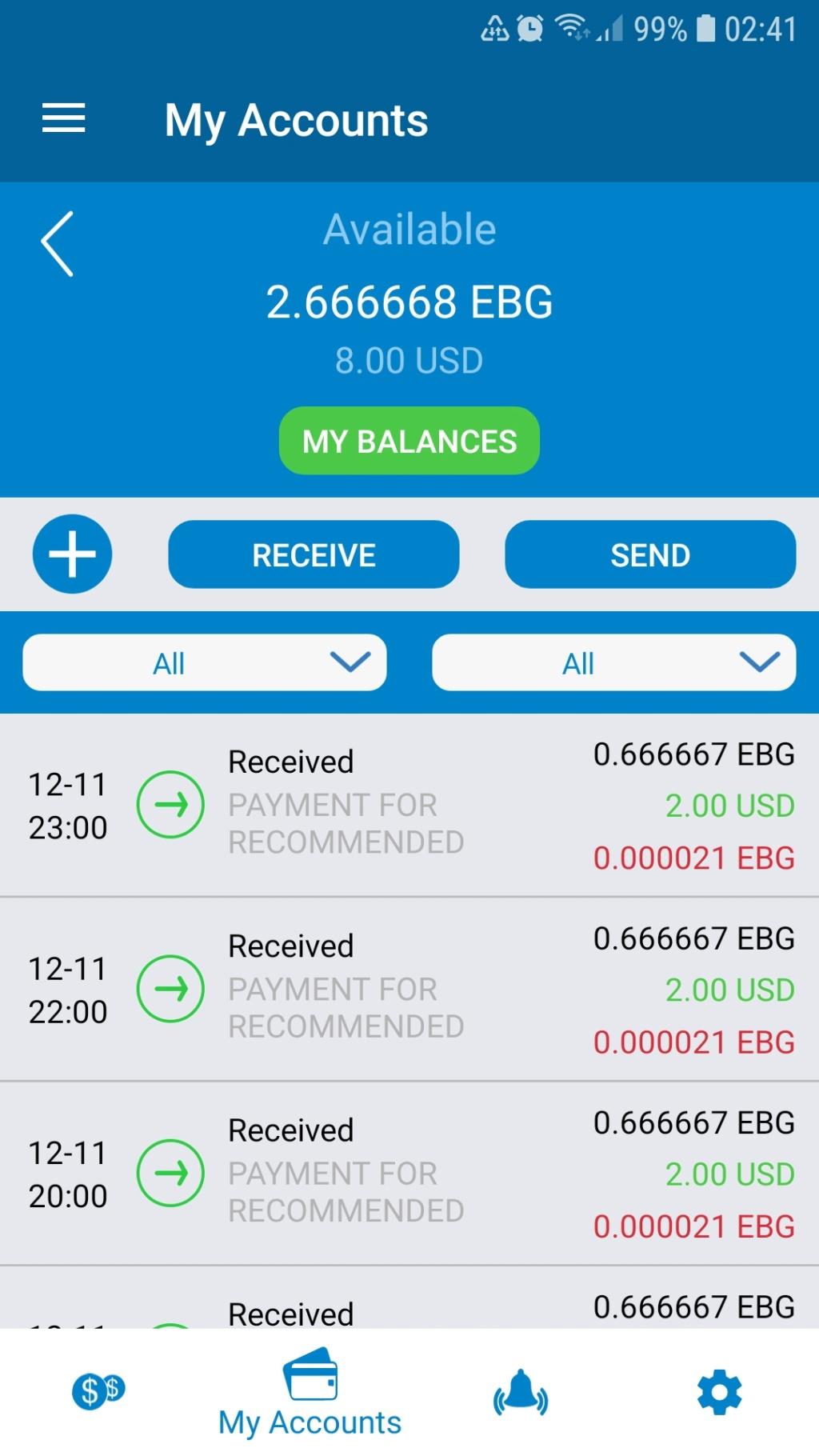 Faswet Wallet 5 USD Screen11