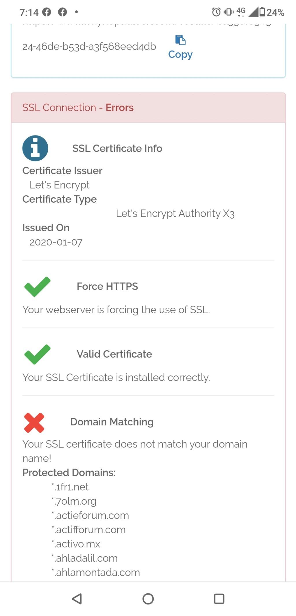 SSL domain error Screen10