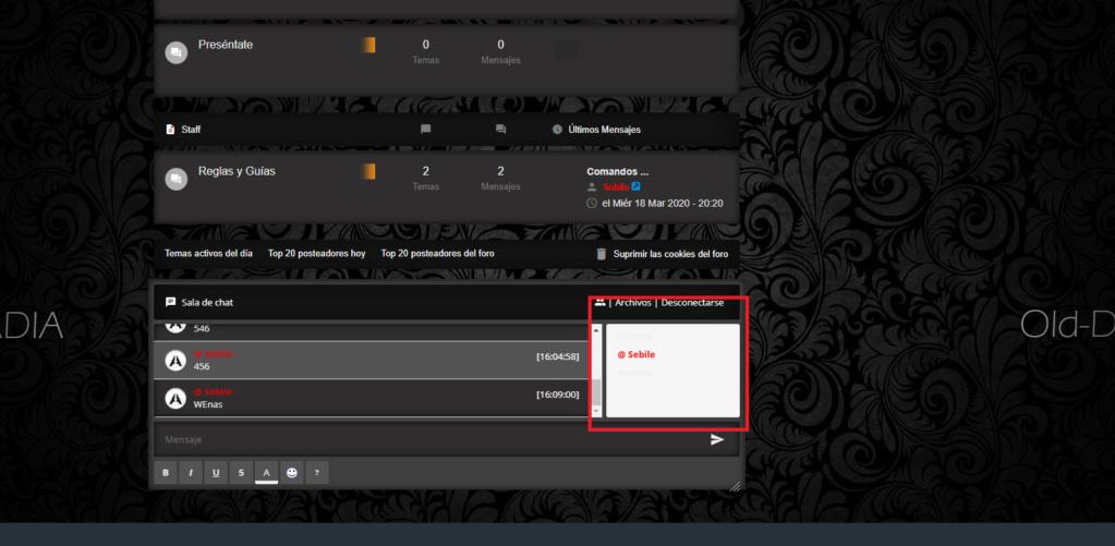 Cambiar Color del fondo de los Mensajes Privados y Chatbox, foro AwesomeBB Asd210