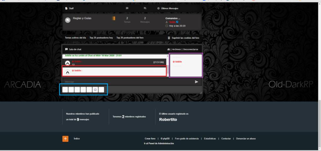 Cambiar Color del fondo de los Mensajes Privados y Chatbox, foro AwesomeBB Asfadf10