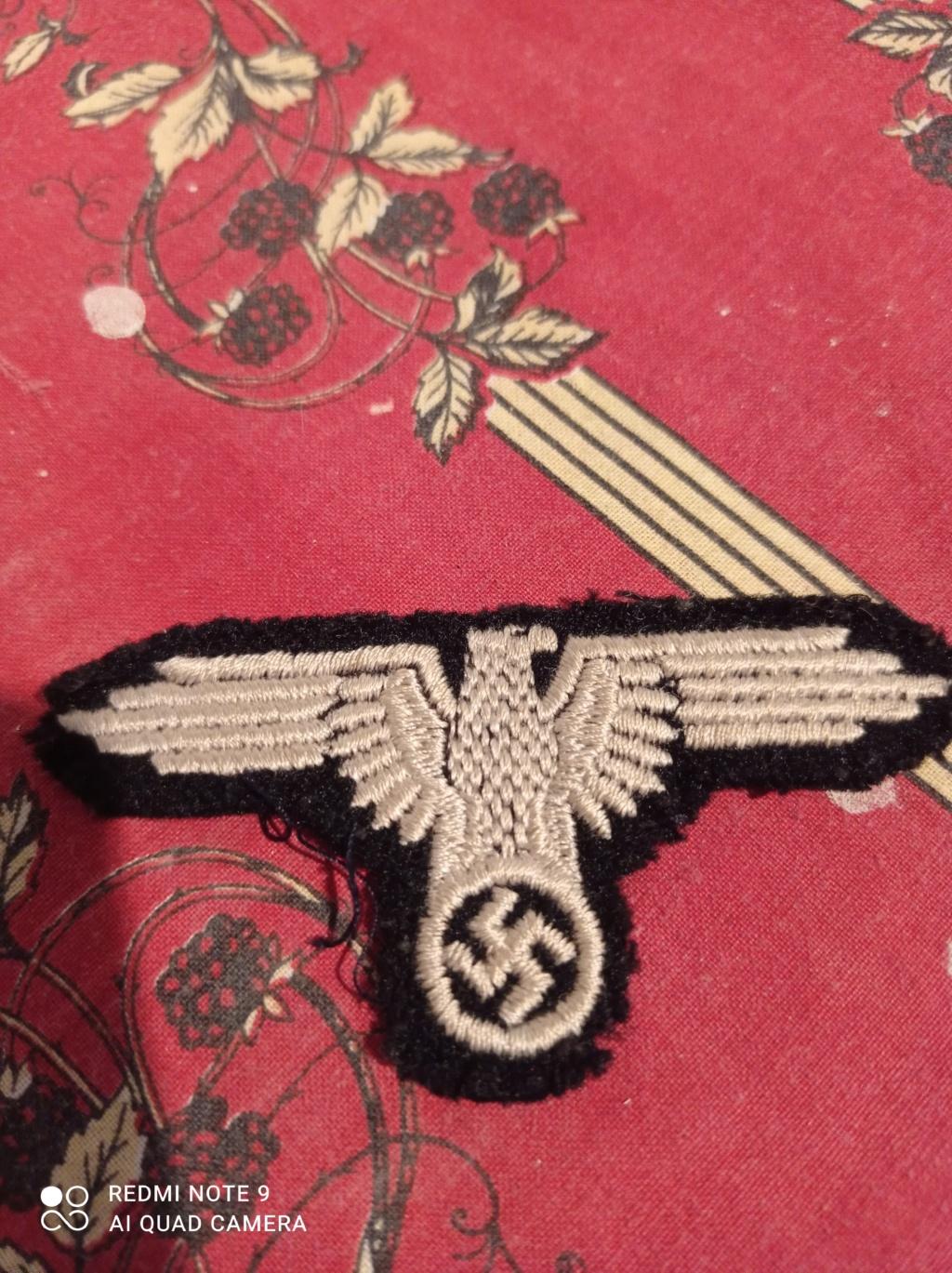 Identification insignes tissus Allemand WW2 Img_2081